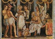 Mozaic Pompei- Saturnalii